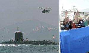 İngiliz Donanması'ndaki barbekü partisi tepkiye yol açtı