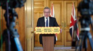 Başbakan Yardımcısı Michael Gove da kendini karantinaya aldı