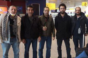 İngiltere'de mahsur kalan denizciler Türkiye'ye döndü