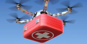 İngiltere'de insansız hava araçları ilaç taşıyacak