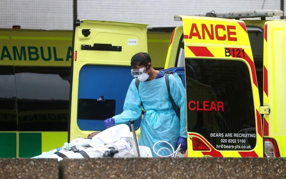 İngiltere'de Koronavirüs nedeniyle hayatını kaybedenlerin sayısı 7 bin 97'ye yükseldi