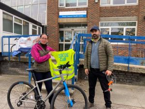 The LondonCycling Club is offering free bike hire for NHS workers