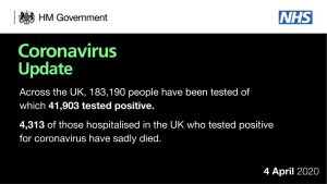 İngiltere'de Koronavirüs sebebiyle bir günde 708 yaşamını yitirdi: Toplam kayıp 4 bin 313