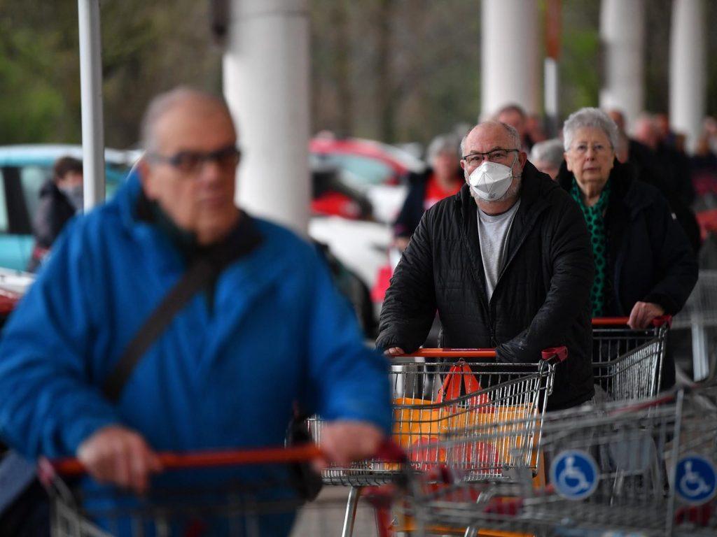 ONS: Coronavirus cases in UK have more than halved in last week