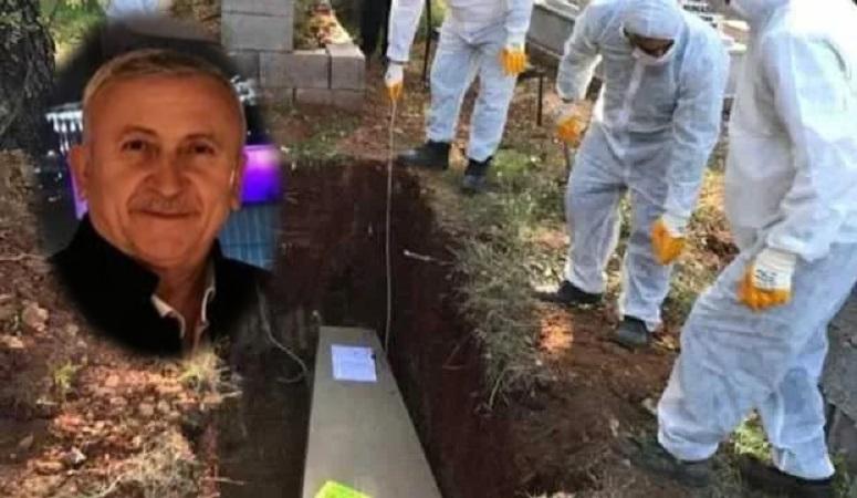 Salgın sebebiyle Londra'da vefat eden Yaşar Cevahir memleketi Osmaniye'de defnedildi