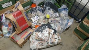 Nearly £1m cash found in shoe boxes at Haringey home