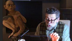 Gollum'u canlandıran İngiliz aktör kitap okuyarak NHS için 283 bin pound bağış topladı