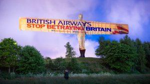 """""""British Airways'ın İhaneti"""" kampanyası başlatıldı"""