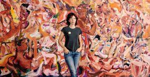 İngiliz kadın ressam Cecily Brown ezber bozuyor