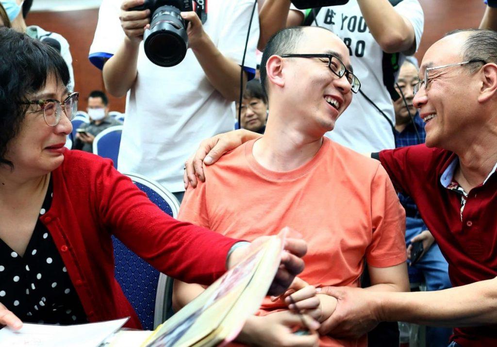 Çinli aile 2 yaşında kaçırılıp satılan oğullarına 32 yıl sonra kavuştu