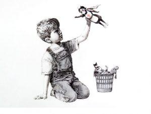 """Banksy'den hemşireler için """"süper kahraman"""" eseri"""