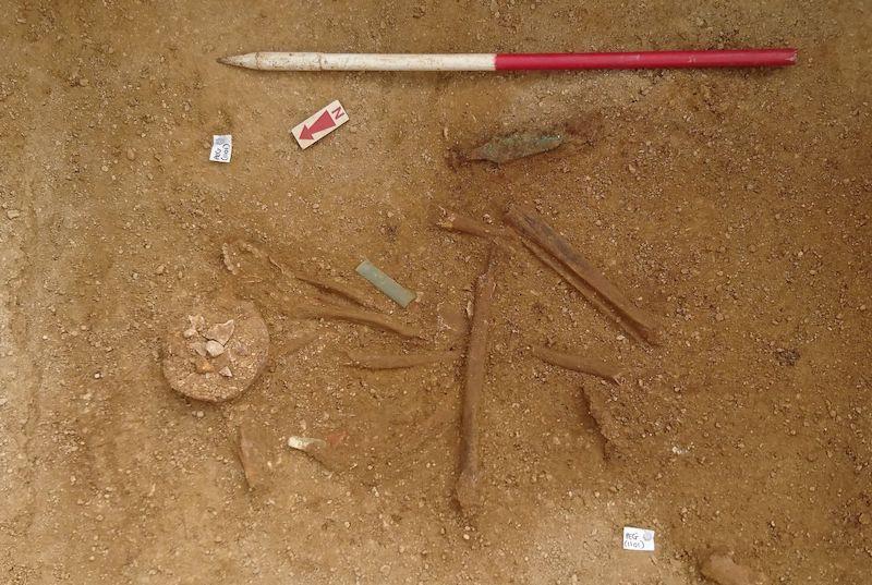 İngiltere'de 4 bin 200 yıllık kabile şefinin mezarı bulundu