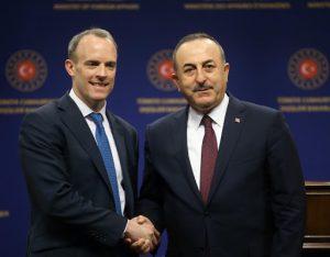 Türkiye-Almanya-İngiltere-Fransa Dörtlü Dışişleri Bakanları Toplantısı video konferansla yapıldı