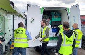 Famous comedian Jack Whitehall lent a helping hand at BAF