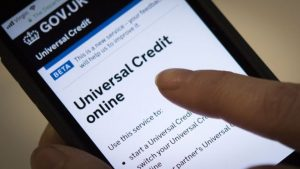 Nearly two million people claim universal credit