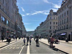 Ekonomiyi canlandırmak için Londra merkezdeki bazı caddeler trafiğe kapatılacak