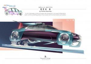 Rolls-Royce'dan genç tasarımcı yarışması