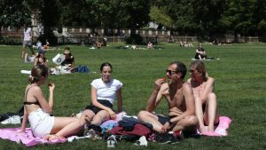 Britain records its hottest day of the year as temperature hits 27C