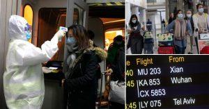 Salgın boyunca hastalık semptomu gösteren 5 bin kişi havalimanlarından ülkeye girdi