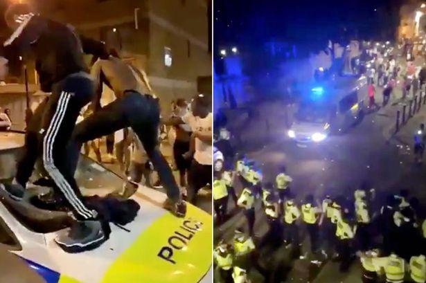 22 police officers injured after Brixton street party turned violent