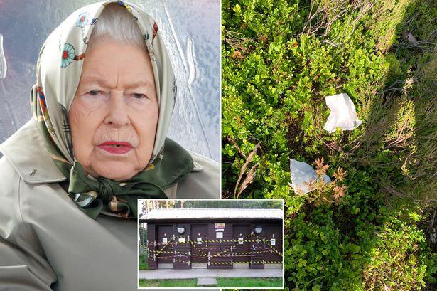 Kraliçe Elizabeth'in kaldığı şatonun duvarına işeyenlere uyarı