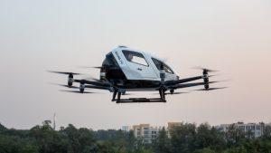 Dünyanın ilk yolcu taşıyabilme özelliğine sahip dronelar hizmete hazır