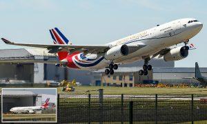 Boris'in 900 bin sterline boyanan uçağı tartışma yarattı