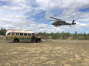 'Into the Wild'ın ünlü otobüsü güvenlik gerekçesiyle taşındı