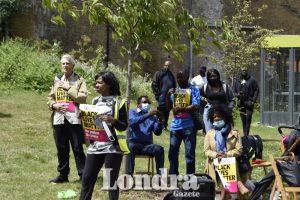 Edmonton'ta 'Black Lives Matter' eylemi gerçekleşti