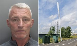 İngiltere'de 5G baz istasyonuna saldıran adama 3 yıl hapis cezası verildi