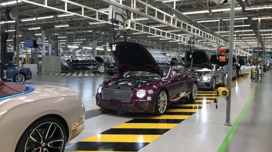 İngiltere'de Nisan ayında sadece 197 adet araba ürettildi