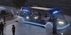 Tesla'dan elektrikli minibüs hamlesi