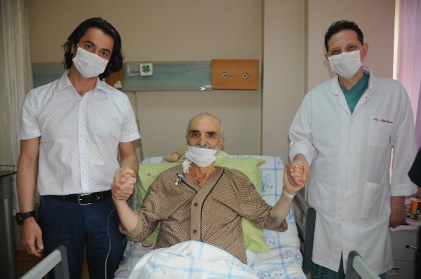 Ambulans uçakla Londra'dan Trabzon'a götürülen toplum üyemiz sağlığına kavuştu