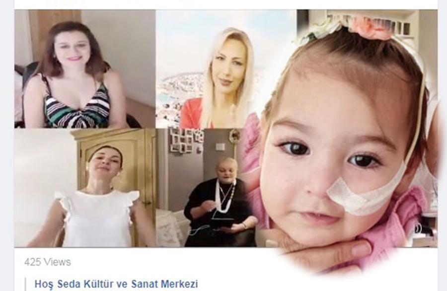 Hoş Seda dedicated their online concert to Baby Ada