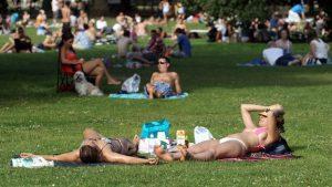 İngiltere'de bu yılın en sıcak günü