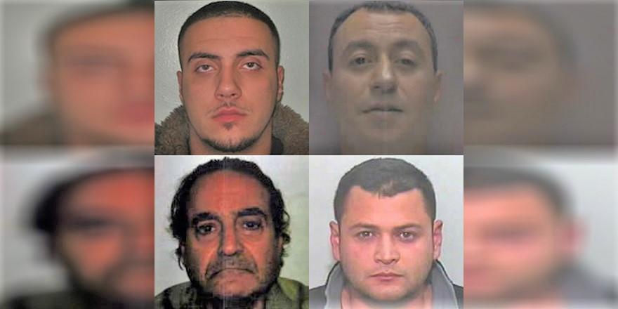Türk ve Rum asıllı 4 Kıbrıslı çeşitli suçlardan İngiltere'de aranıyor