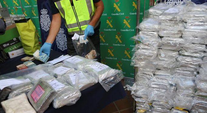 Türkiye'ye gönderilecek 5 ton kokain ele geçirildi