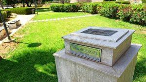 Shakespeare'in 17 bin 500 poundluk büstü Gazimağusa'daki parktan çalındı