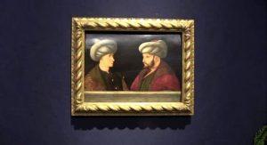 İBB, Londra'da açık artırmaya çıkan Fatih Sultan Mehmet portresini satın aldı