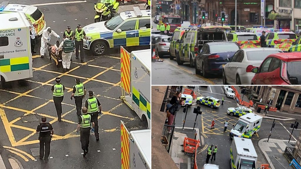 Major incident is declared as 3 said to be dead in Glasgow