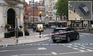 Londra'nın zengin mahallesinde araçlı saldırı
