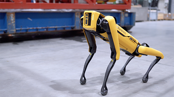Robot köpeği 'Spot' satışa çıktı