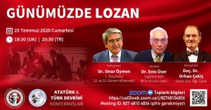 İADD: 'Günümüzde Lozan' konferansı dijital ortamda gerçekleşecek