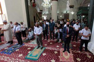 KKTC'de Türkiye'deki Ayasofya Camii için dua edildi