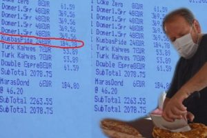 Bodrum'daki pide fiyatları İngiliz basınında