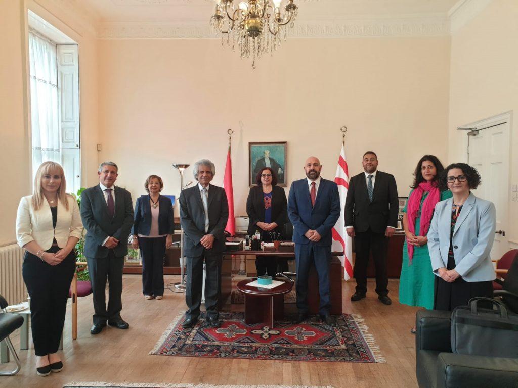 Konsey'in yeni Yönetim Kurulu Oya Tuncalı'yı ziyaret etti