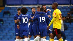 Chelsea Watford'u 3 golle geçti