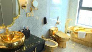 Vietnam'da dış cephesi, havuzu ve odaları 24 ayar altınla kaplı 5 yıldızlı otel hizmete girdi