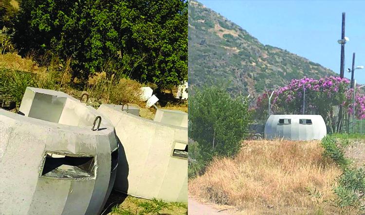 Güney Kıbrıs Rum yönetimi, sınır kapılarına ağır silah mevzileri yerleştirdi