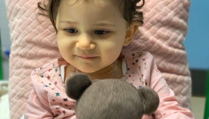 21 aylık Liya, hayata tutunabilmek için kök hücre bekliyor